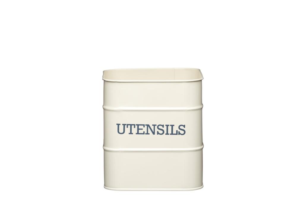 KitchenCraft Utensil Holder - Antique Cream