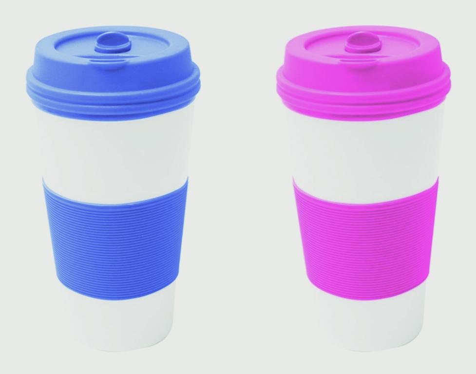 Fine Elements Silicone Grip Travel Mug - 350ml