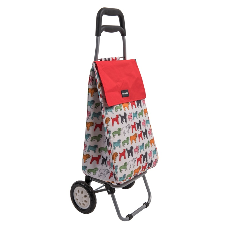 Sabichi Shopping Trolley - Pug
