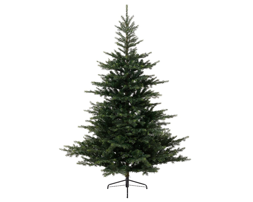 Kaemingk Grandis Fir Green Hinged Tree - 210cm