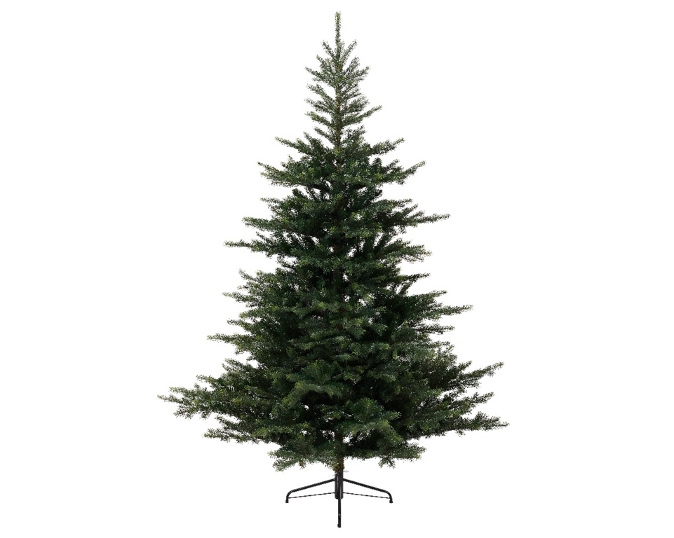 Kaemingk Grandis Fir Green Hinged Tree - 240cm