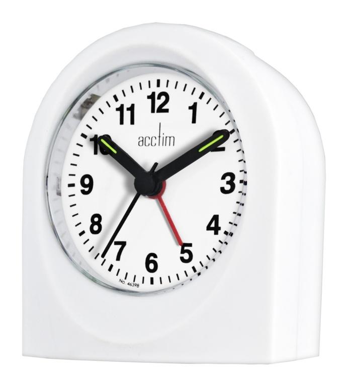 Acctim Palma Beep Beep Alarm - White