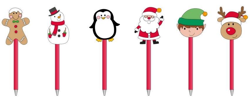 North Pole Christmas Pen - Assorted Designs Available