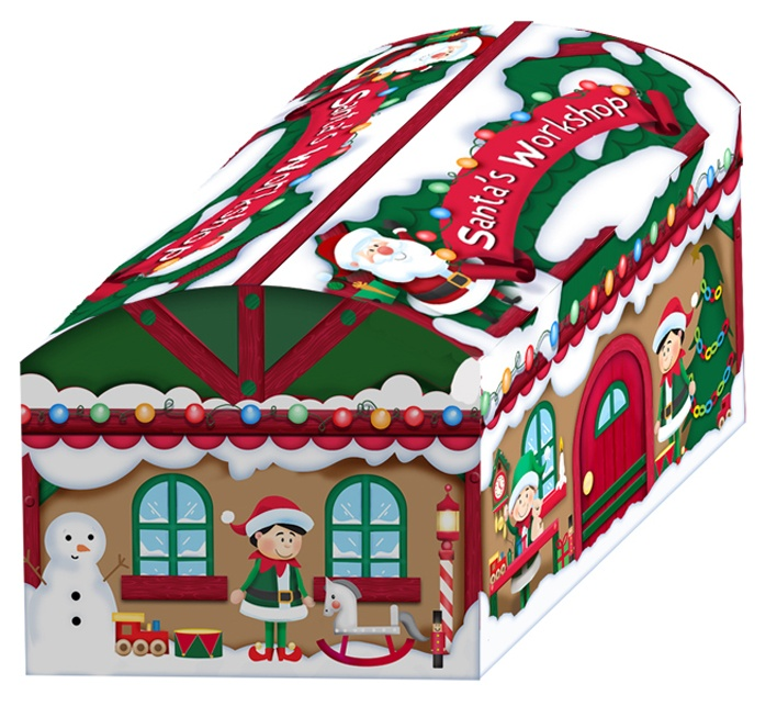 North Pole Chests Set 3 - Santa Workshop