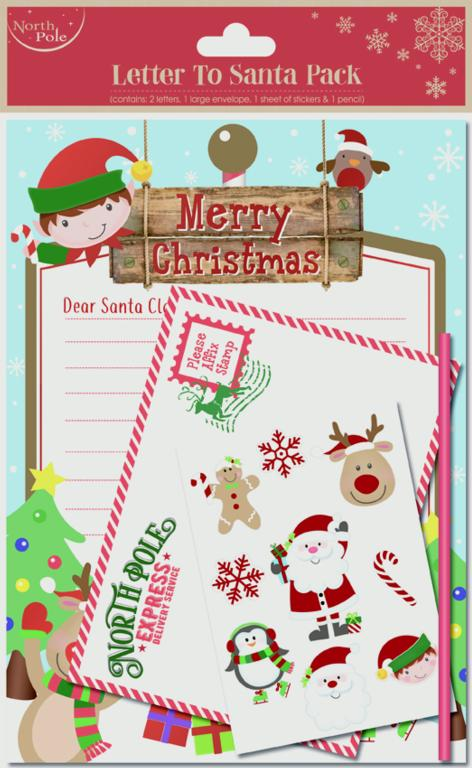 North Pole Letter To Santa Pack