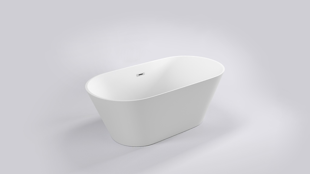 Hampton Double Ended Free Standing Bath - 800 x 1700mm