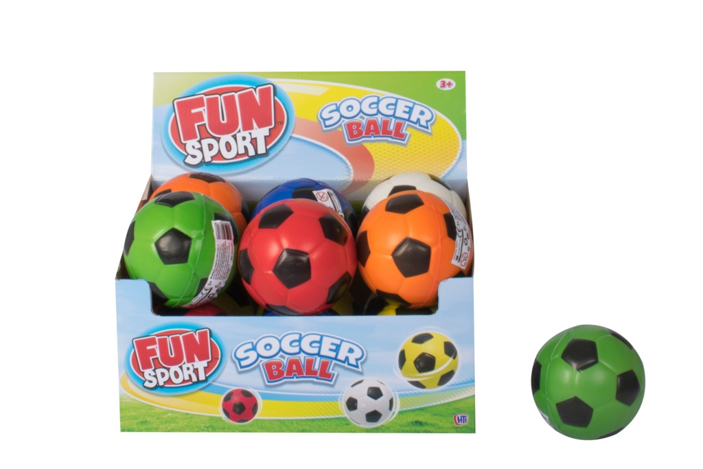 Fun Sport PU Soccer Ball - 4""