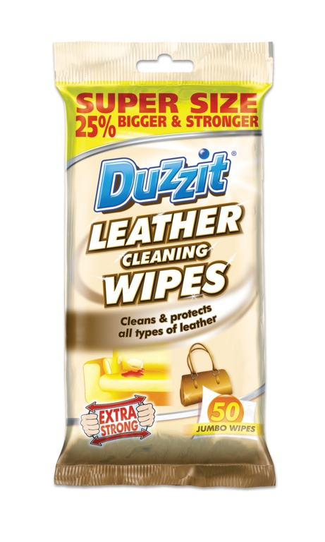 Duzzit Leather Cleaning Wipes - Pack 50