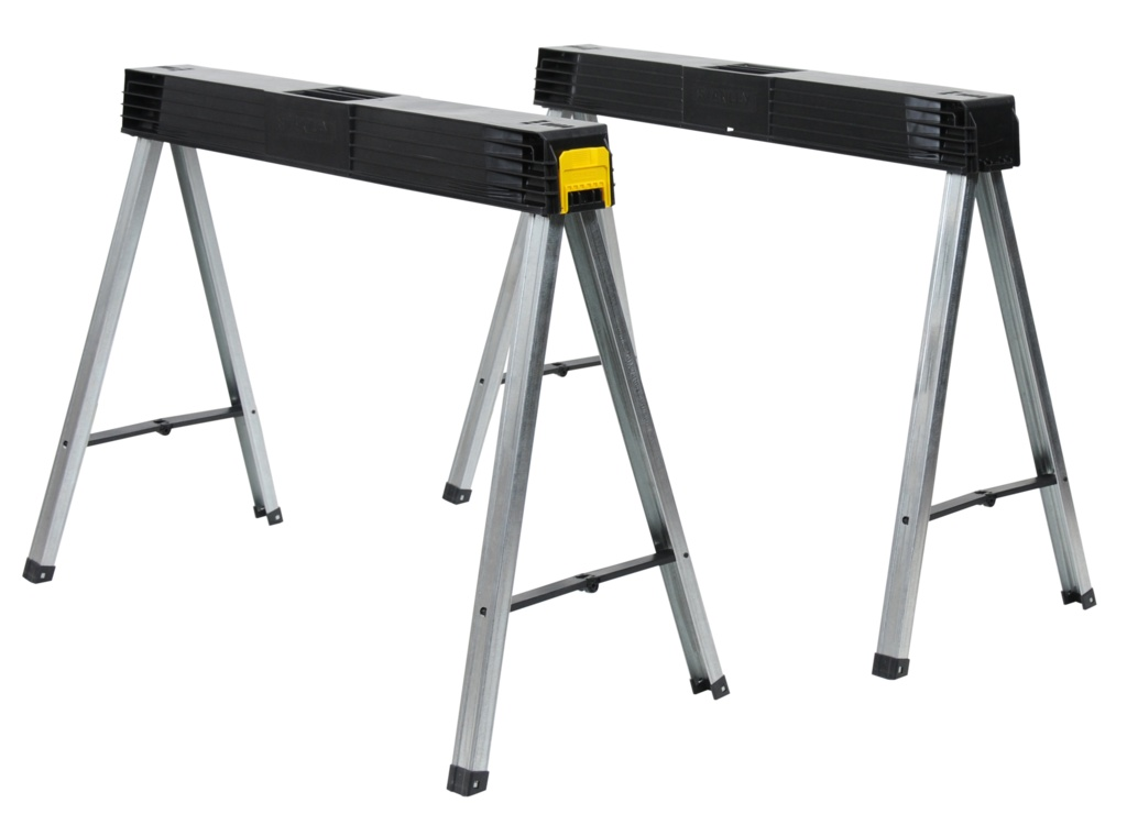 Stanley Fold Up Sawhorse - Pair