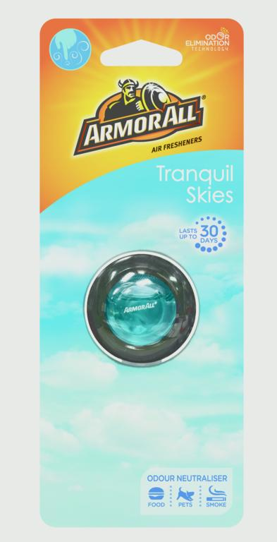 Armor All Vent Clip Air Freshener - Tranquil Skies