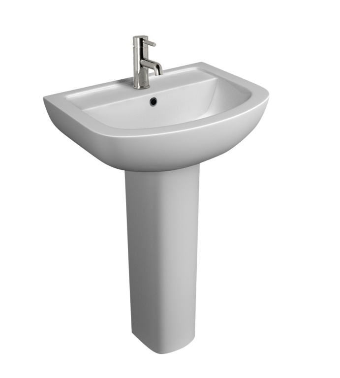 Kartell Studio 1 Tap Hole Basin - 550mm