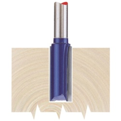 "Draper 1/4"" Router Bit 10x25mm Straight"