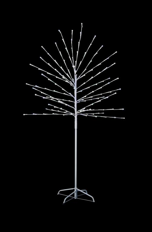 Premier 150 LED Tree With Timer - White 1.5m