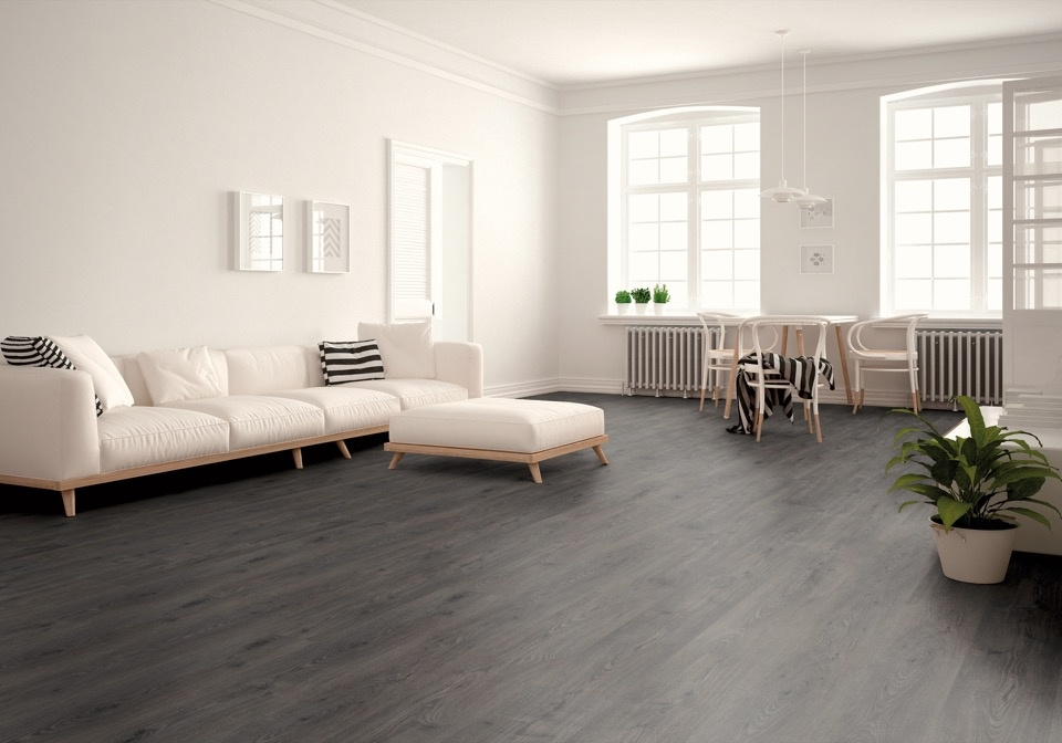 Kronoswiss Liberty Laminate Floor - Natural Oak Coal - 2.131m2 per pack