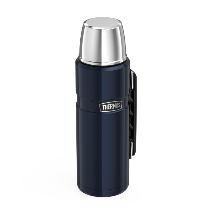 Thermos Stainless King Flask Midnight Blue - 1.2L