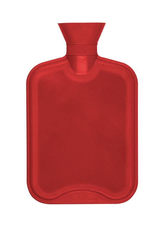 Hearth and Home 2 Litre Hot Water Bottle - Red