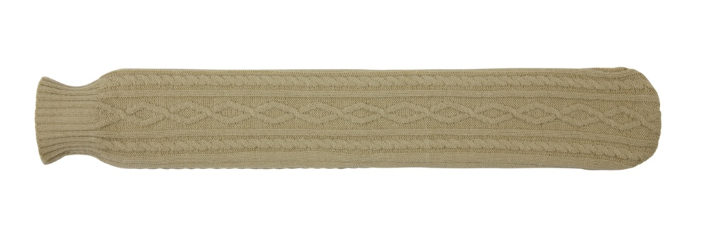 Hearth and Home 2 Litre Long Hot Water Bottle - Knitted