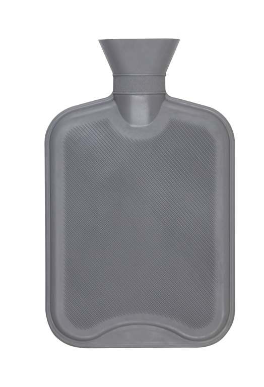 Hearth & Home 2 Litre Hot Water Bottle - Grey