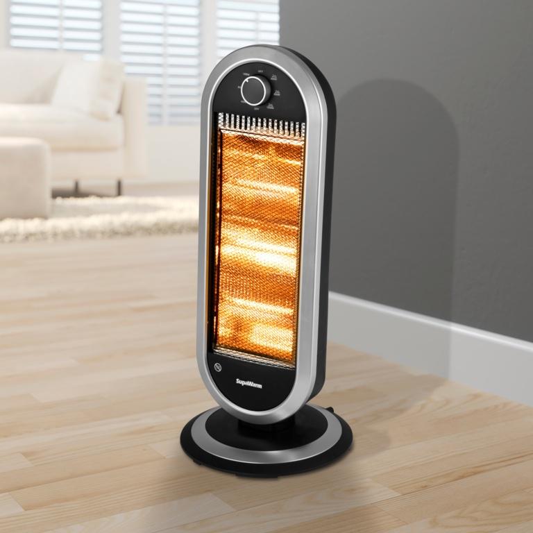 SupaWarm Deluxe Halogen Heater - 1200w