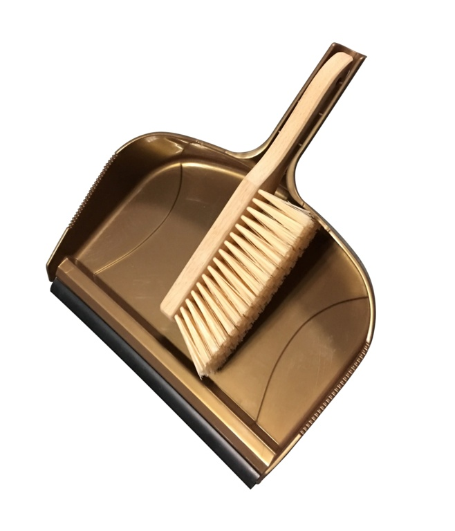 Groundsman Giant Dustpan and Beech Wood Brush - 12""