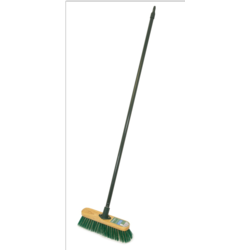 Ambassador 2 in 1 Dual Purpose Broom With Metal Handle