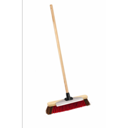 Ambassador Outdoor Bassine/PVC Broom With Scraper