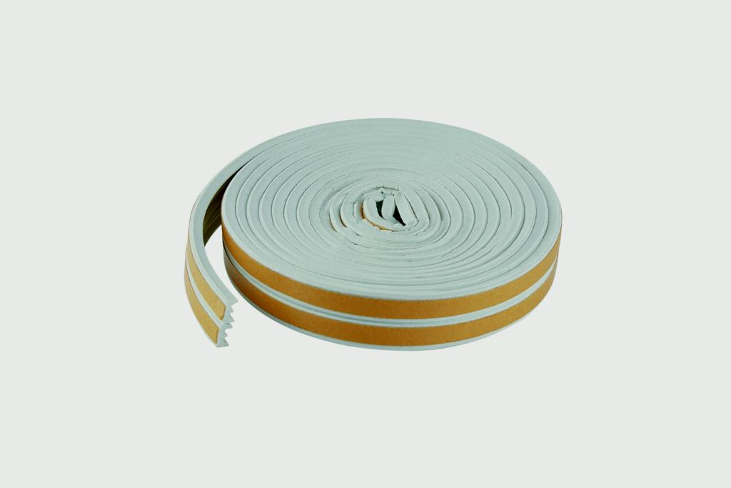 Woodside Epdm E Rubber Strip - 5m White