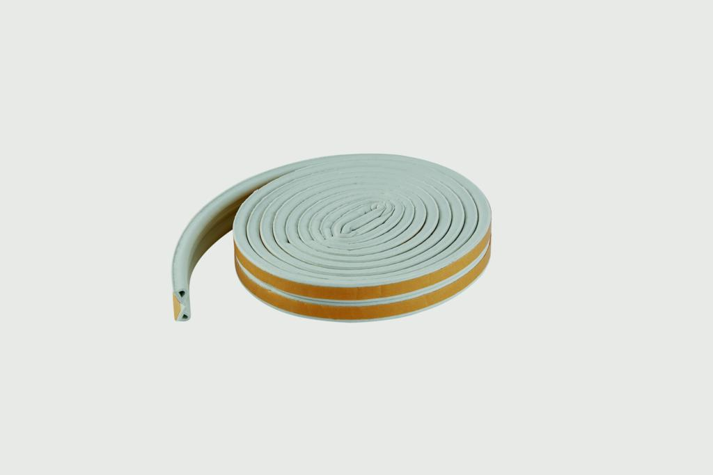 Woodside EPDM P White Rubber Strip - 5mtrs