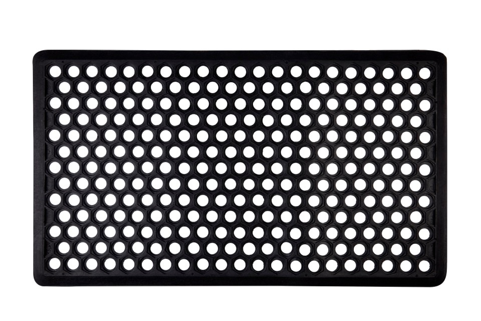Groundsman Honeycomb Rubber Mat - 40 x 70cm