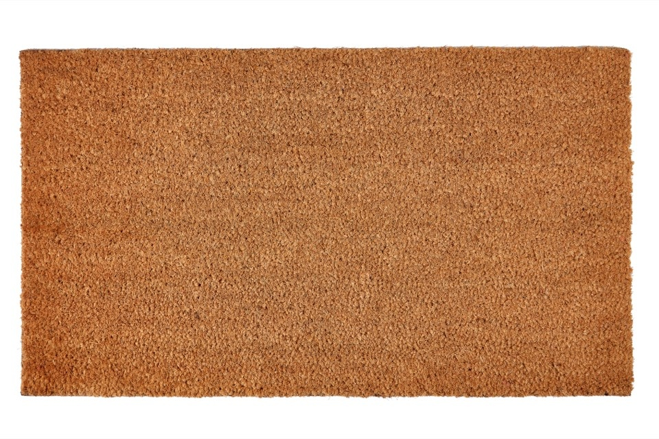 Groundsman Coir Mat With PVC Back - 40 x 70cm