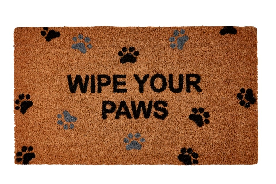 Groundsman Wipe Your Paws Doormat - 40 x 70cm