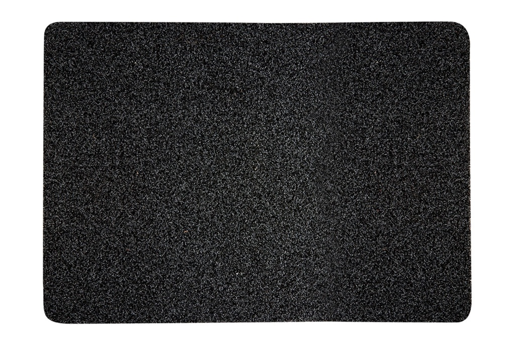 Groundsman Outdoor Polyethylene Mat - Charcoal - 50 x 75cm