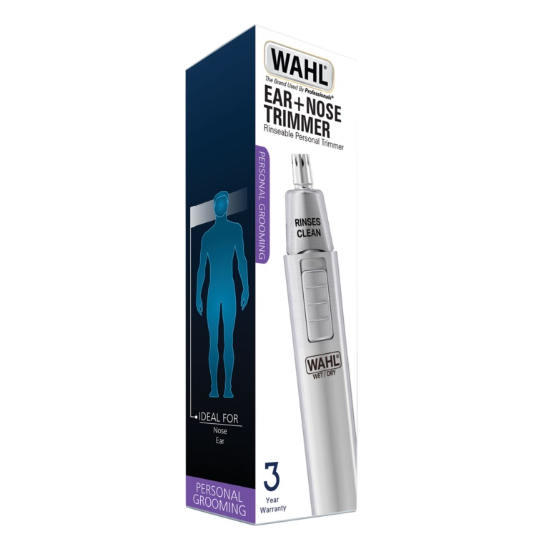 Wahl Ear & Nose Wet N Dry Satin Trimmer