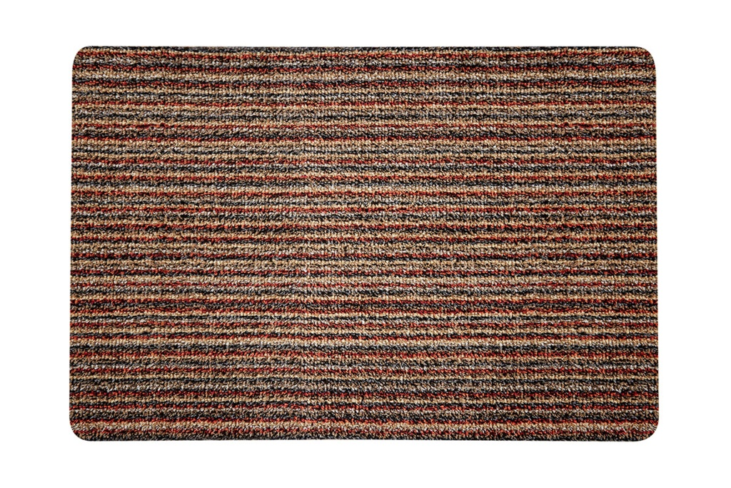 Groundsman Cotton Indoor Mat - Stripe - 50 x 75cm