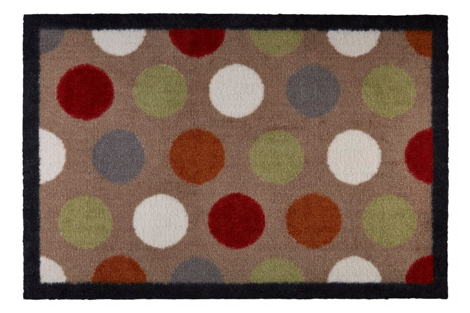 Groundsman Indoor Patterned Mat - Spots 50 x 75cm