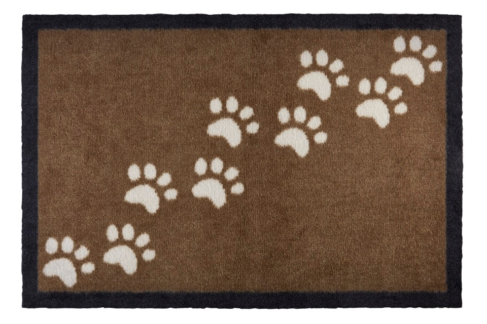 Groundsman Indoor Patterned Mat - Paws - 50 x 75cm