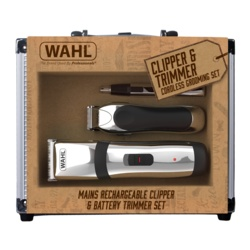 Wahl Cord/Cordless Clipper Gift Set