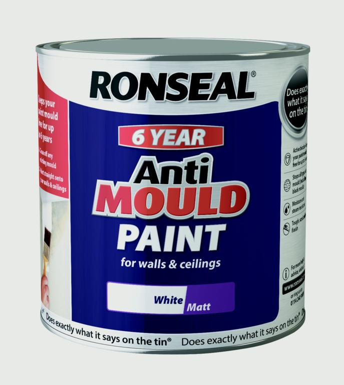 Ronseal 6 Year Anti Mould Paint 2 5l Stax Trade Centres