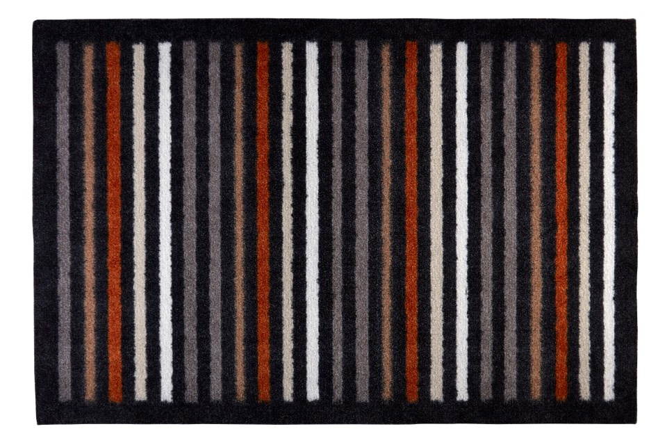 Groundsman Indoor Patterned Mat - Stripes 50 x 75cm