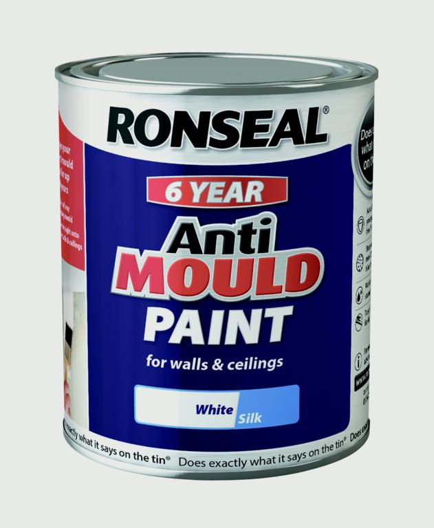 Ronseal 6 Year Anti Mould Paint 750ml Stax Trade Centres