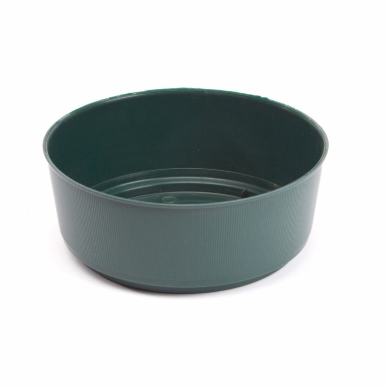 Oasis Green Bulb Bowl - 21 x 9cm