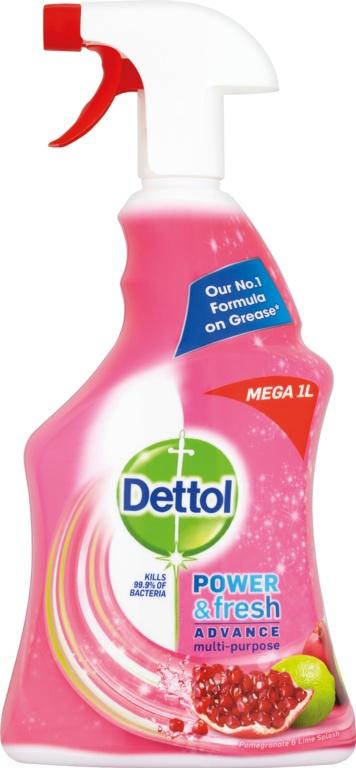 Dettol Power & Fresh 1L - Pomegranate