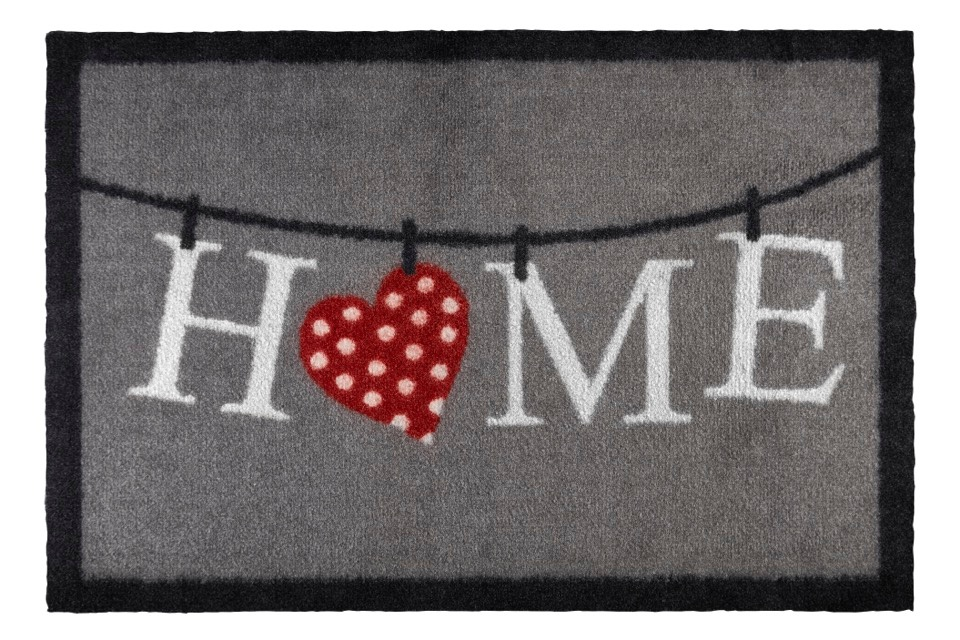 Groundsman Indoor Patterned Mat - Home 50 x 75cm