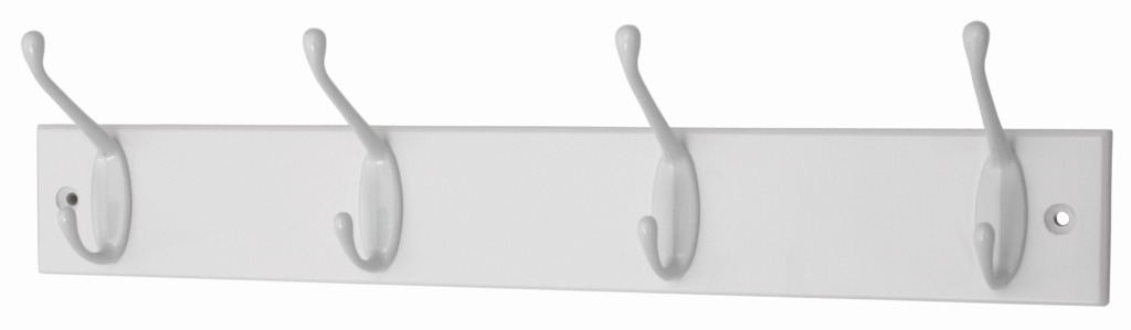 Headbourne White Board White Hooks - 4 Hook