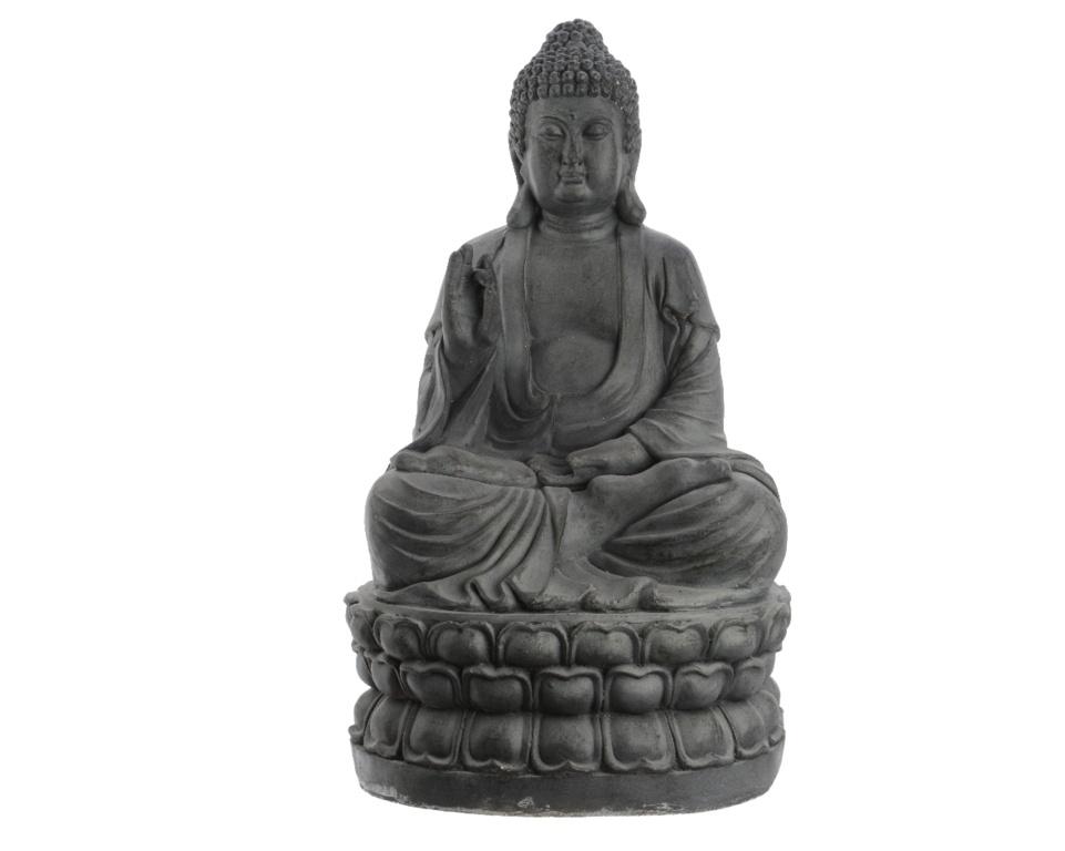Kaemingk Magn Sitting Buddha - 34 x 37 x 65.5cm