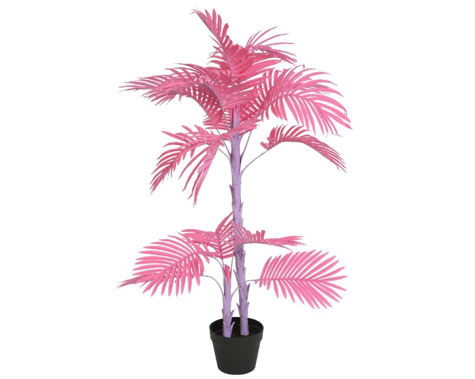 Kaemingk PLC Palm In Pot Pink - 80x103