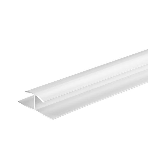 Giavani H Joint Trim 10mm x 2.7m - White