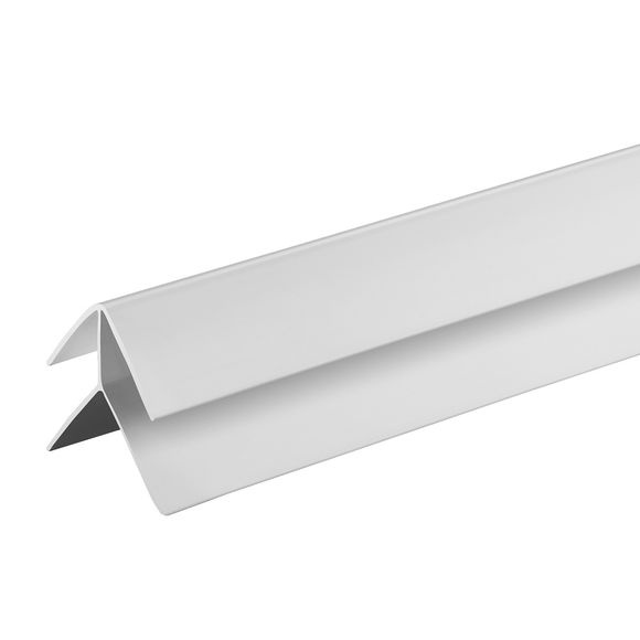 Giavani External Corner Trim 10mm  x 2.7m - White