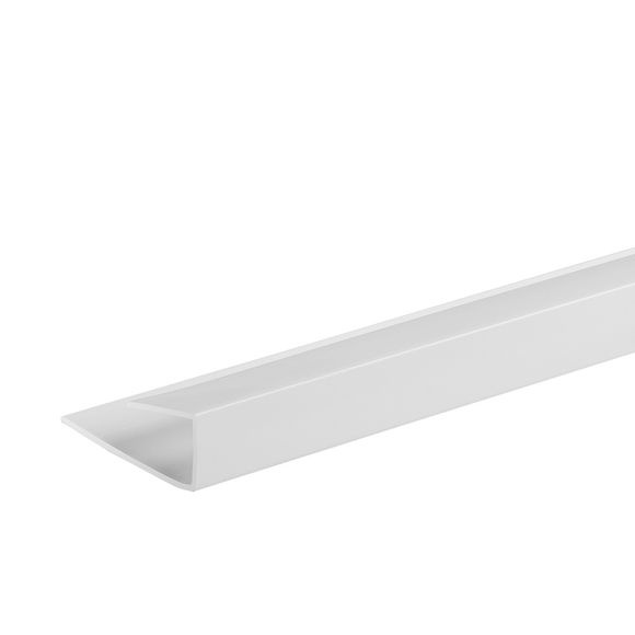 Giavani End Caps 10mm x 2.7m - White
