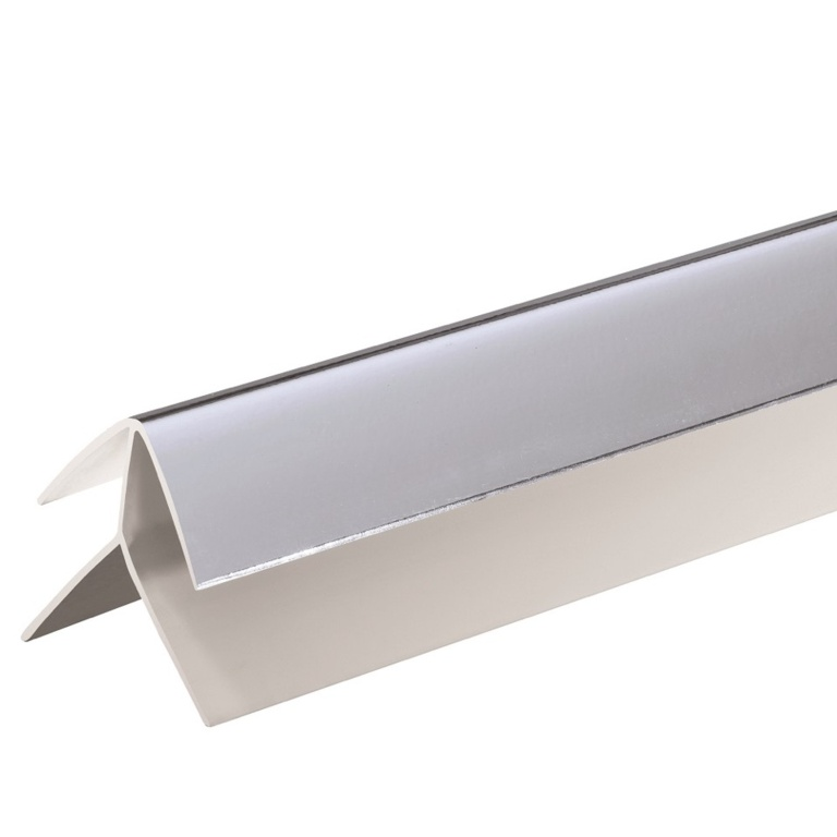 Giavani External Corner Trims 10mm x 2.7m - Chrome